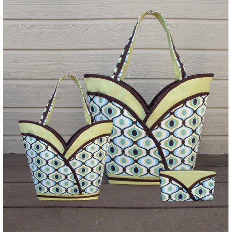 Pursepatterns : ... ? Purse, Tote & Cosmetic Bag Sewing Pattern cozy nest design