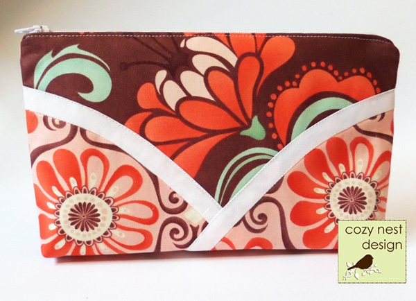 Petals Cosmetic Bag Tutorial
