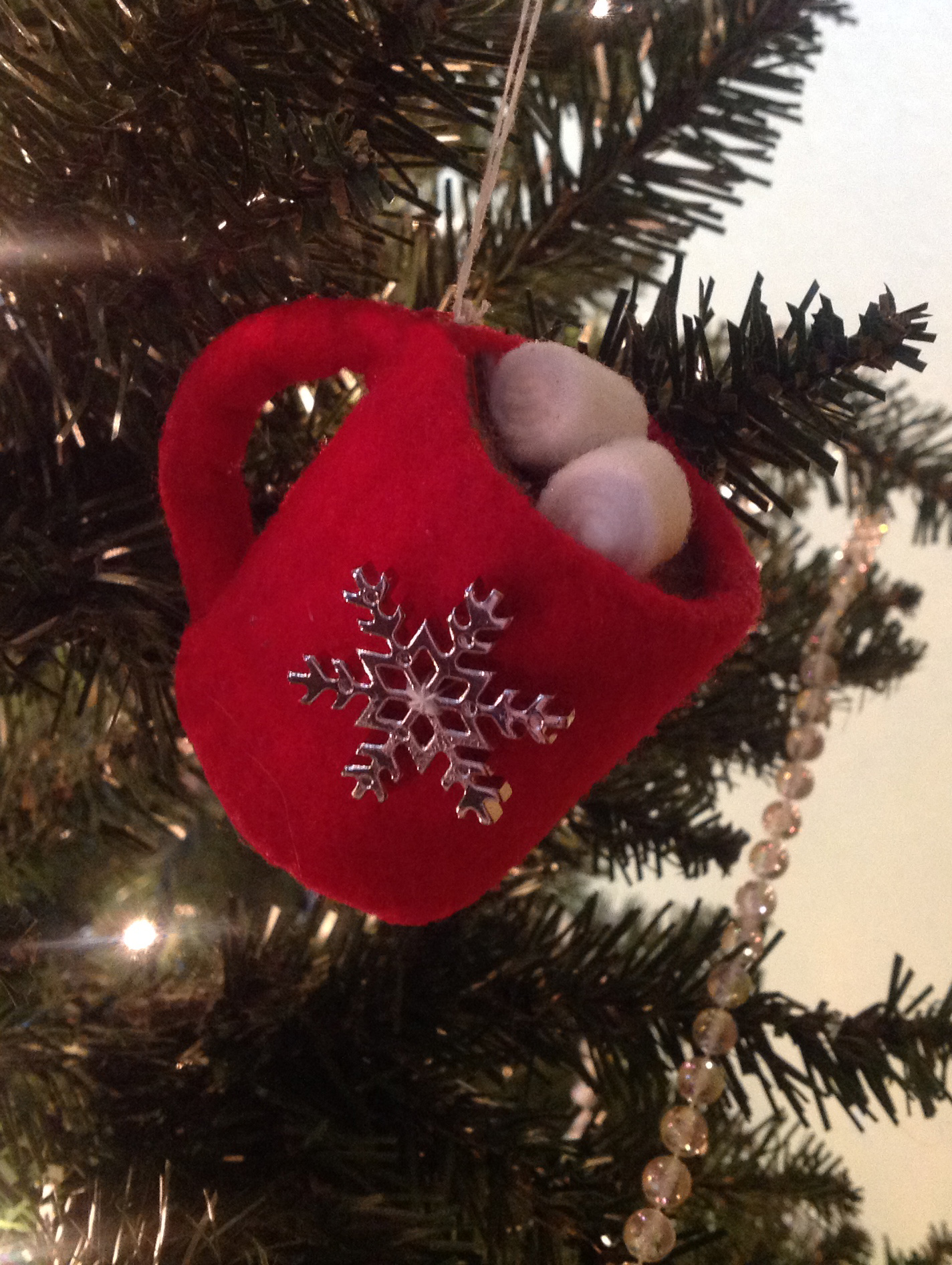 Betz White Hot Chocolate Ornament – Done! | cozy nest design