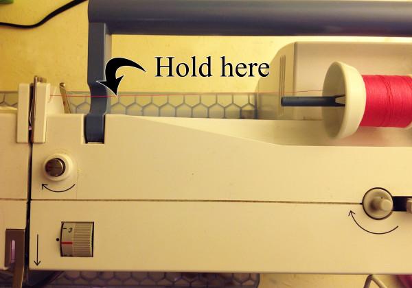 hold thread