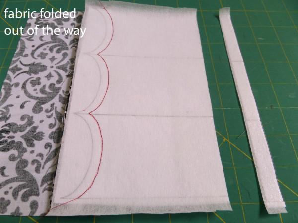 fold fabric away