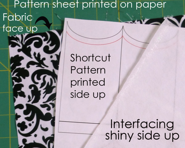 paper pattern layers