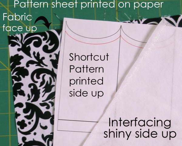 paper pattern layers