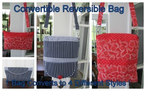 Conertible reversible collage