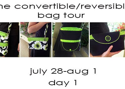 Day 1- The Convertible Reversible Bag Tour & Giveaway!