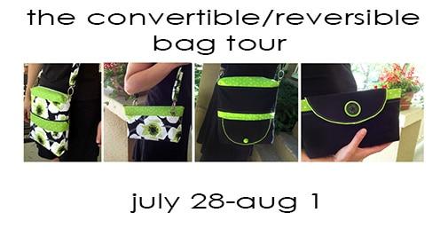 Convertible/Reversible Bag Tour & Giveaway!