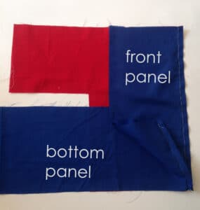 sew bottom panel 2