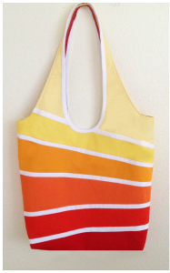 spectrum tote bag sewing pattern