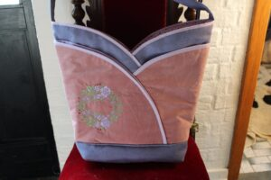 Helle embroidered on this bag - super cute!