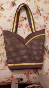 Another bag by Jean S. Wouldn't this be perfect for fall!
