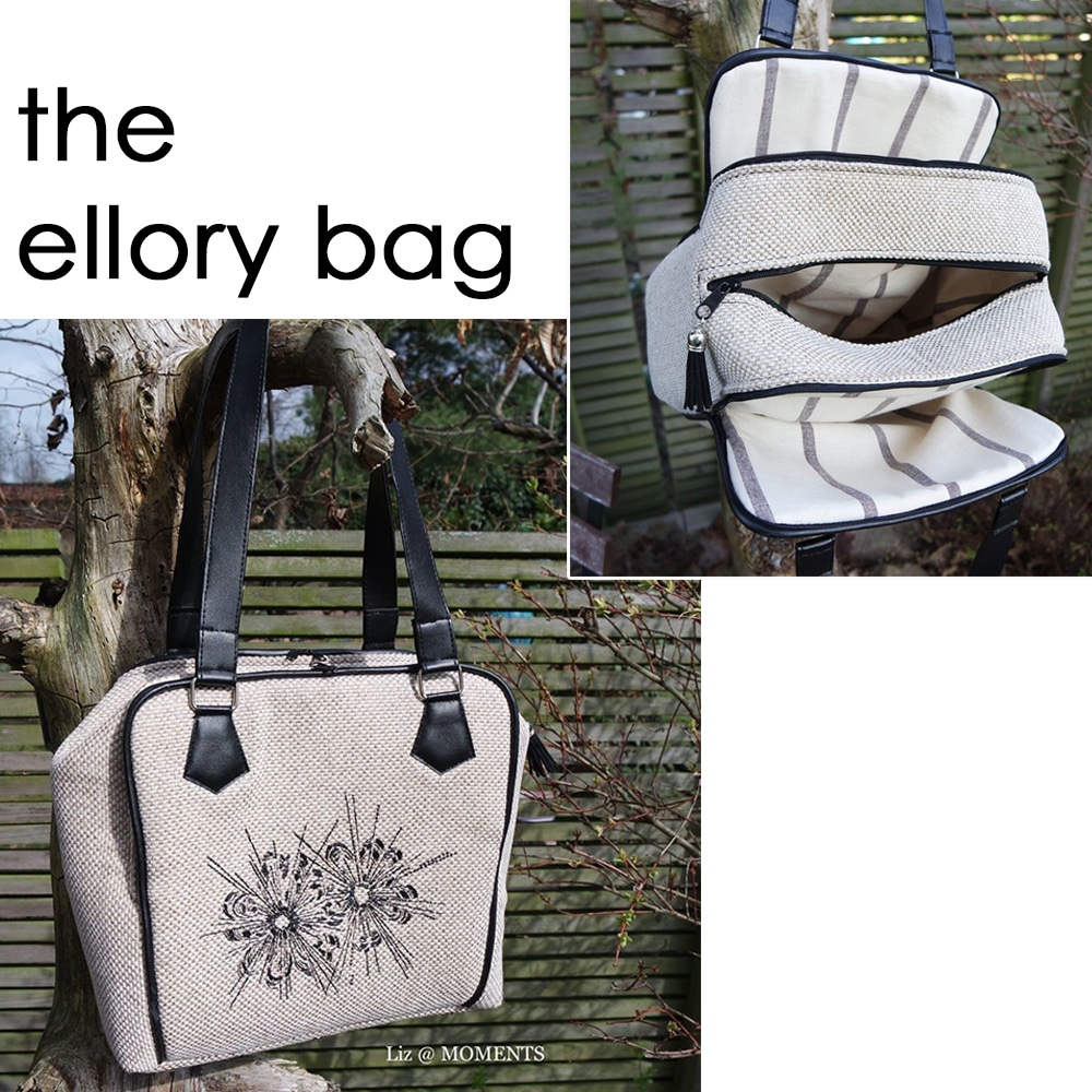 The Ellory Bag Sewing Pattern | cozy nest design