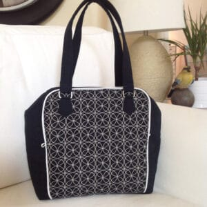 b/w ellory bag sewing pattern