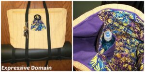 Speedy Patricia of Expressive Domain stitched up her Motherload Tote in a day! You are amazing, Patricia!