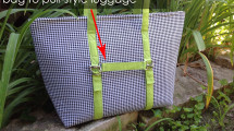 luggage strap for motherload tote