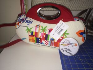 I'm happy to say my Layla bag took 1st place in The Road to California Bag Challenge! Yay!