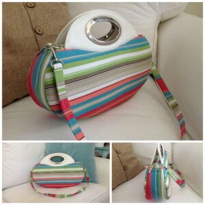sarah's striped bag
