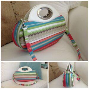 sarah's striped bag