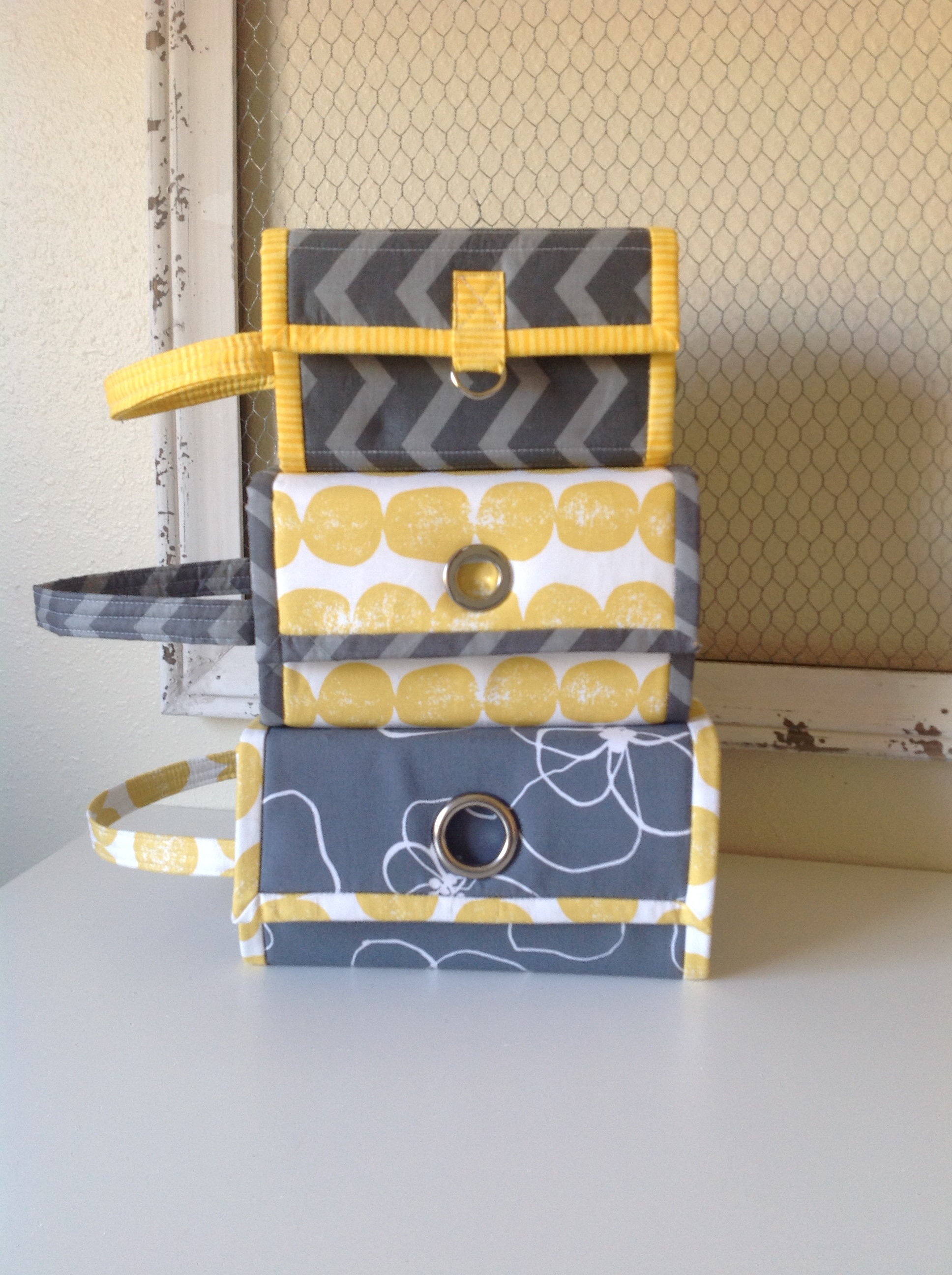 New Pattern:  The Rollie Pollie Organizer