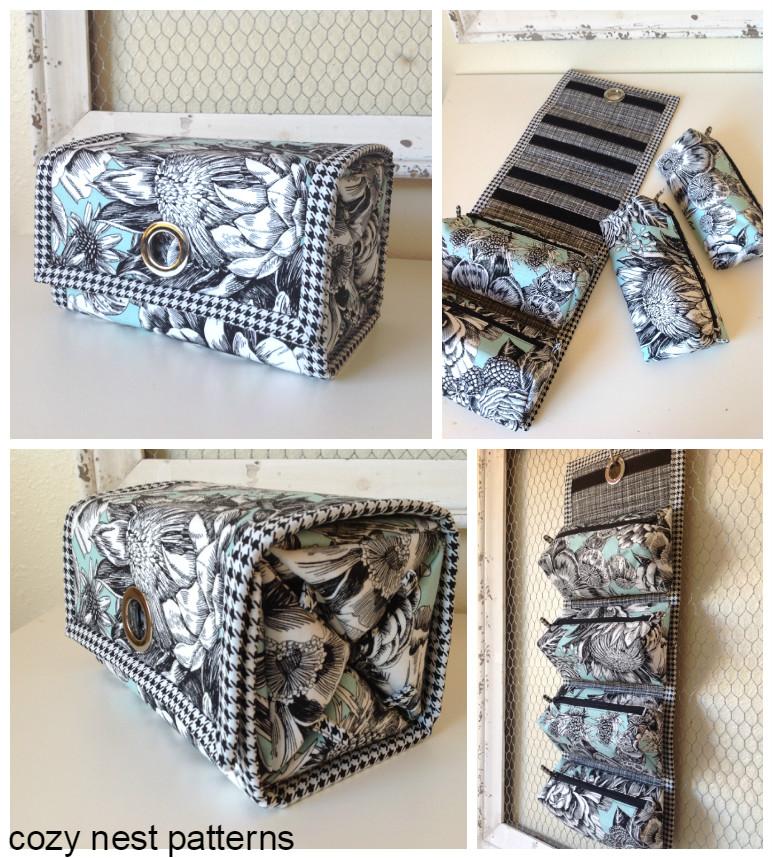 Rollie Pollie Organizer Sewing Pattern Cozy Nest Design