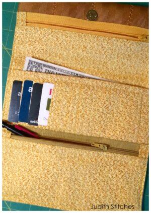 Judith's tri-fold wallet