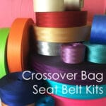 crossover bag seat belt kits