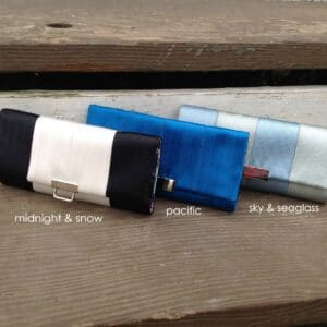 seat belt wallet trio
