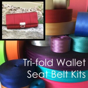 tri fold wallet seat belt kit