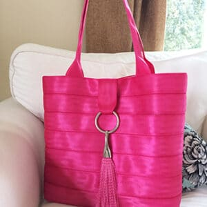 large with hot pants seat belt webbing