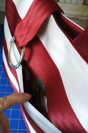 exterior slip pockets
