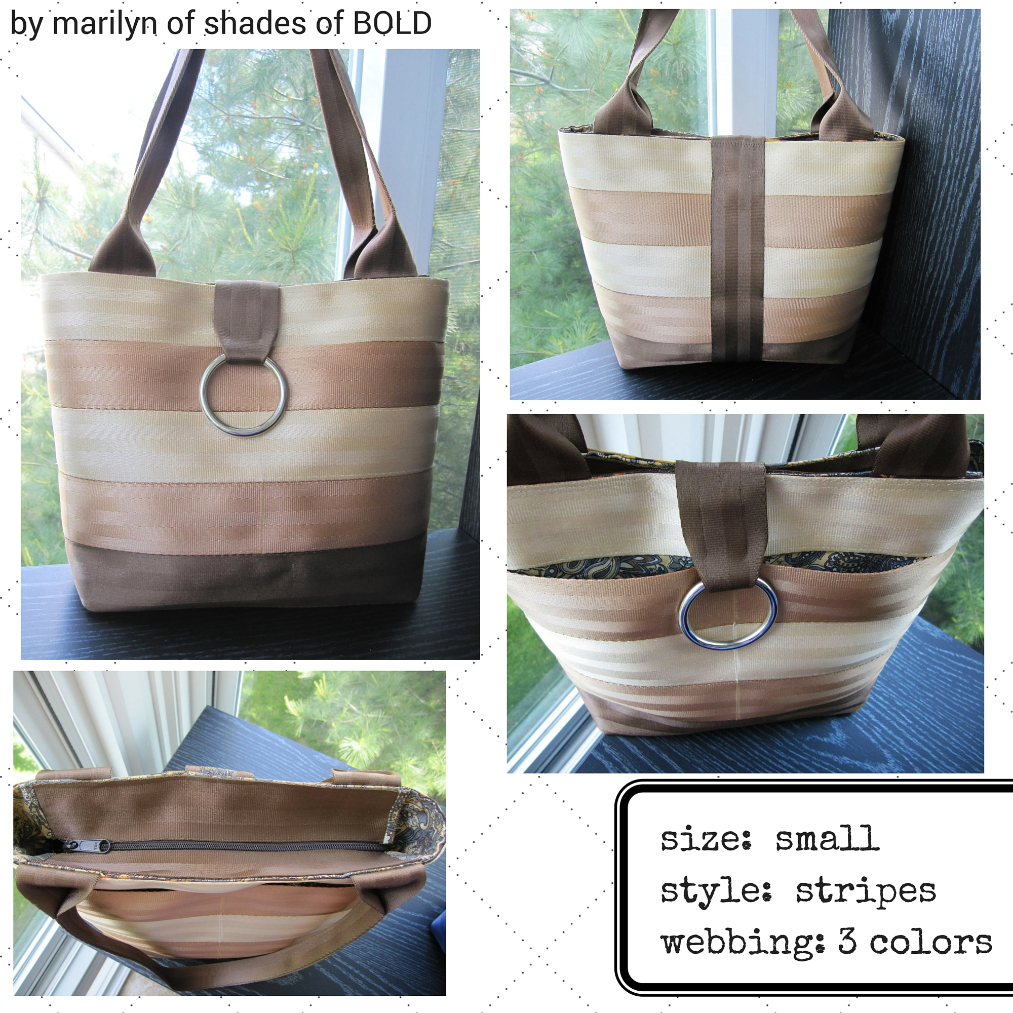 marilyn's earth tone tote