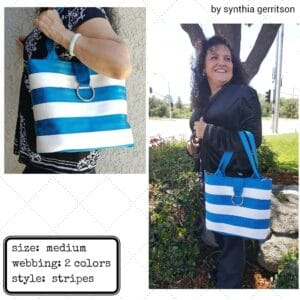 synthia's seat belt tote