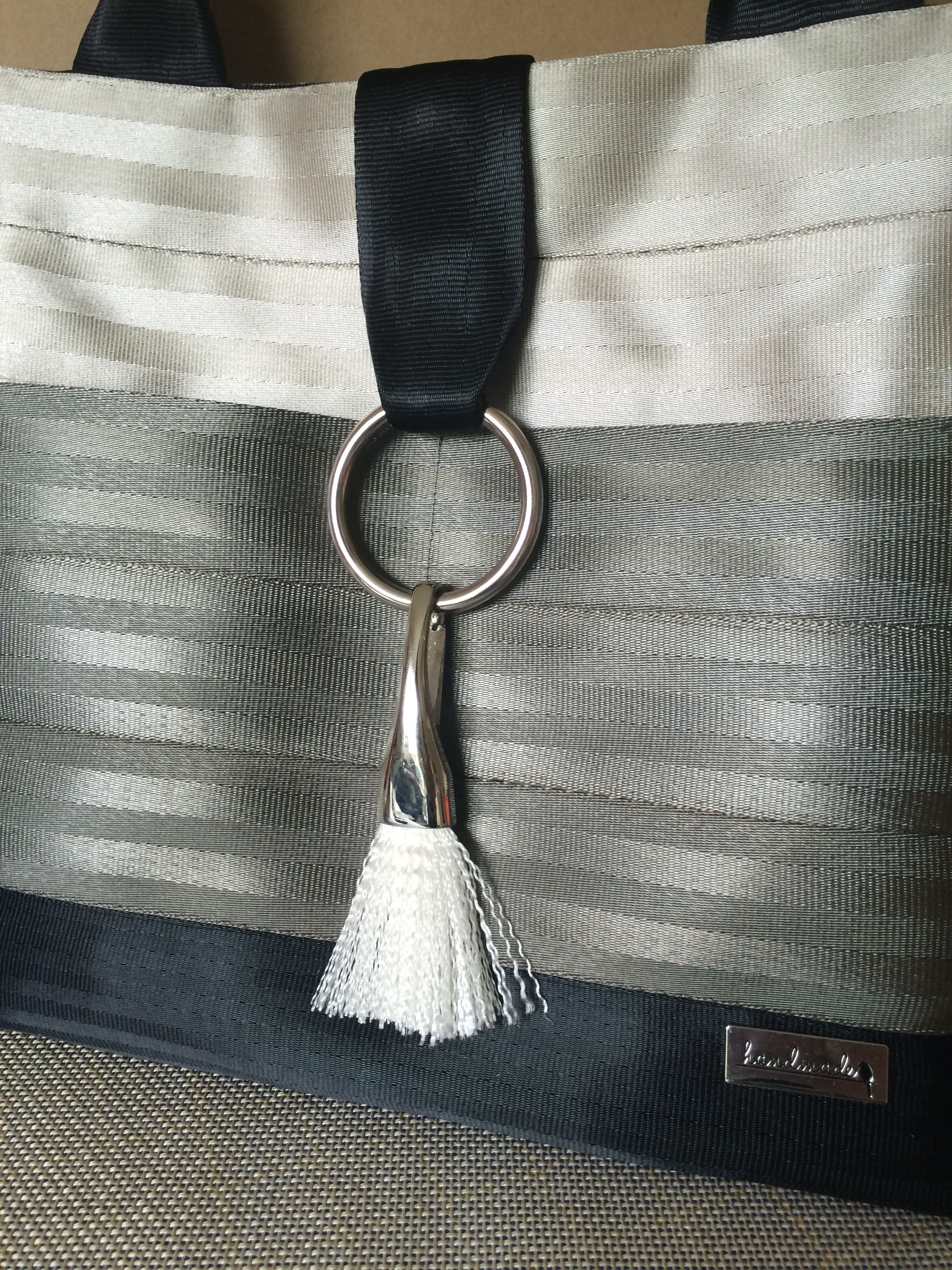 Tutorial: How to make a Sleek Drop Tassel with Seat Belt Webbing