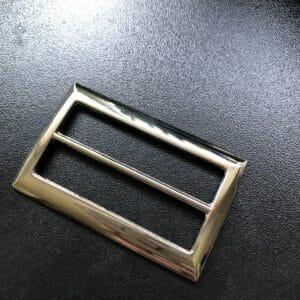 "2"" rectangular tri-glide strap slider"
