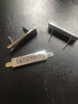 bagmaking hardware handmade tag