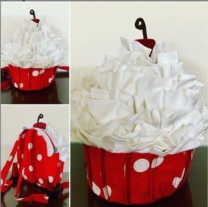 backpack that looks like a cupcake