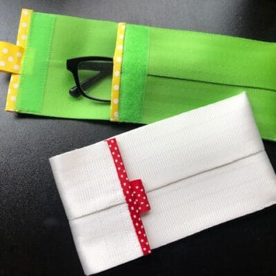 Tutorial: Make a Seat Belt Eyeglasses Case or Pouch!